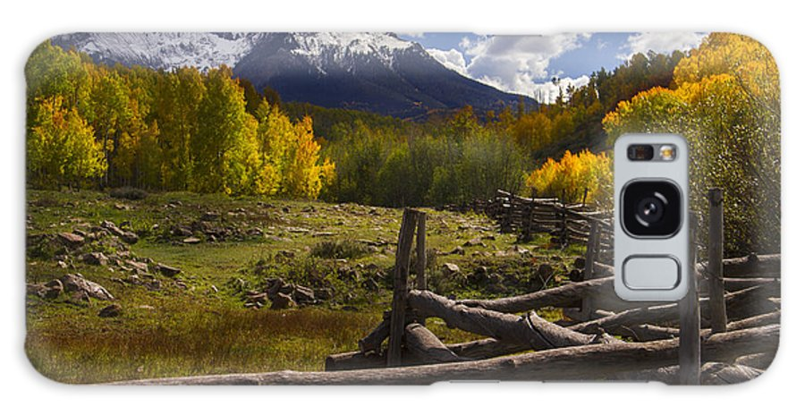 Colorado Galaxy S8 Case featuring the photograph Teluride by Jeff Shumaker