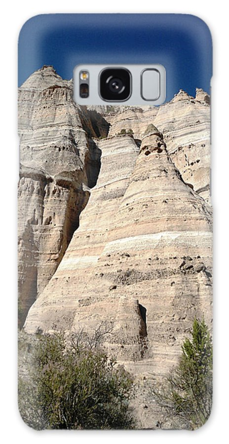 Tent Rocks Galaxy S8 Case featuring the photograph Tent Rocks 1 by Lovina Wright