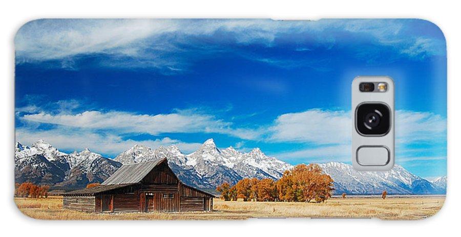 Teton Galaxy S8 Case featuring the photograph Teton Autumn by Jim Southwell