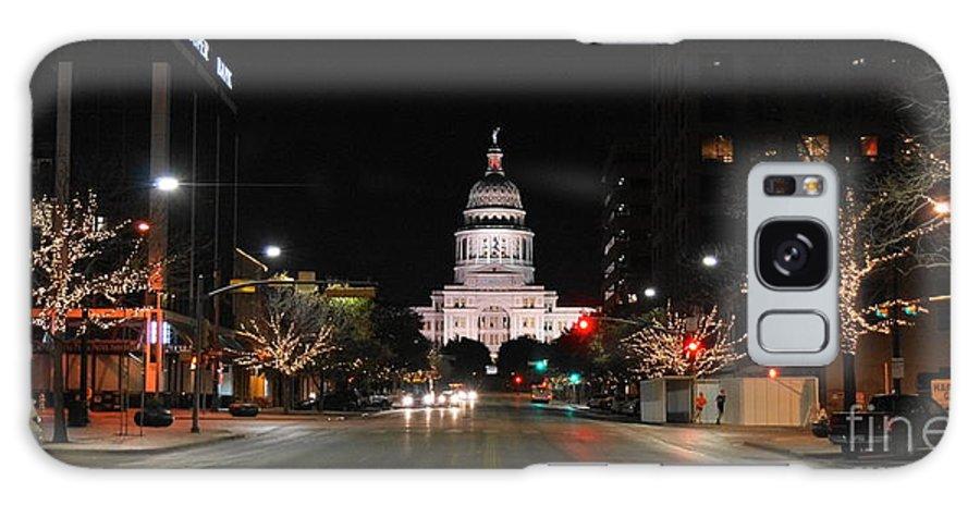 Texas Capital Building Galaxy S8 Case featuring the photograph Texas Capital Building by William Bosley