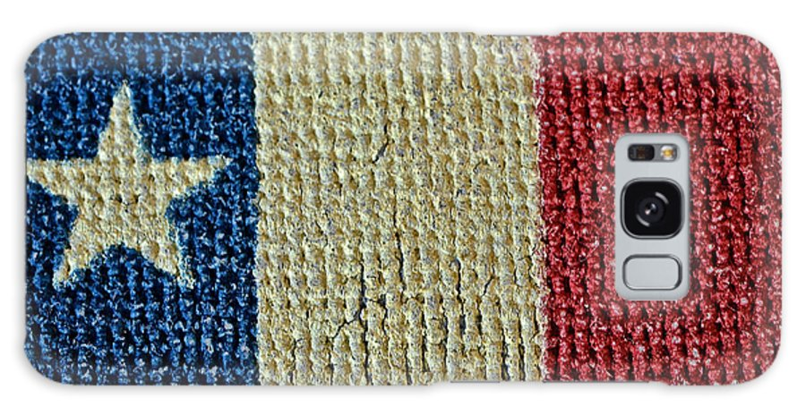 Texas Galaxy S8 Case featuring the photograph Texas First Lone Star Dodson's Flag by Bill Owen