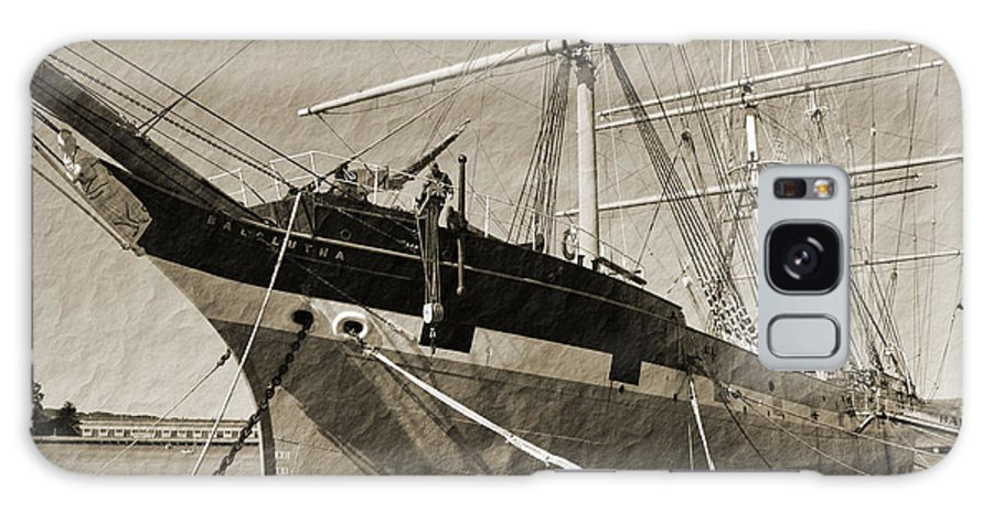 Francisco Galaxy S8 Case featuring the photograph The Balclutha by Holly Blunkall