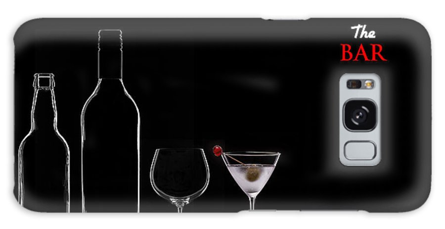 Alcohol Galaxy S8 Case featuring the photograph The Bar by Bahadir Yeniceri