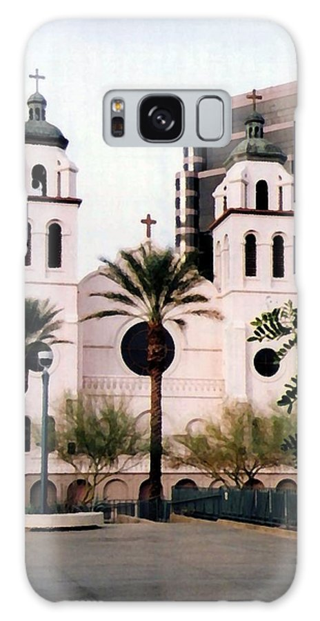 Church Galaxy S8 Case featuring the photograph The Basilica Of St. Mary by Pharris Art