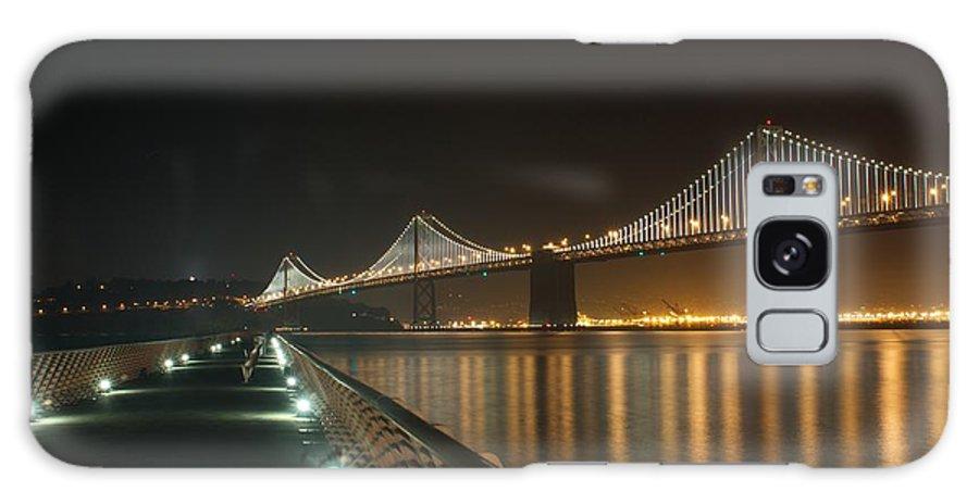 Bridge Galaxy S8 Case featuring the photograph The Bay Bridge by Jordan Conner