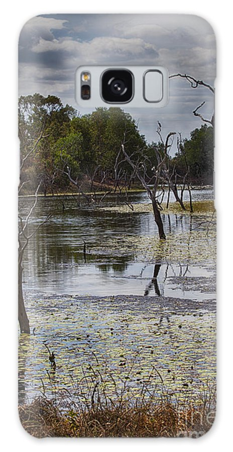 Billabong Galaxy S8 Case featuring the photograph The Billabong V12 by Douglas Barnard