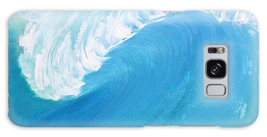 Waves Galaxy S8 Case featuring the painting The Blue Room by Mark Beach