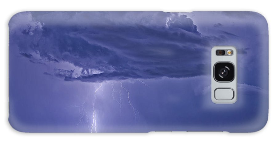Florida Lightning Galaxy S8 Case featuring the photograph The Blues by Stephen Whalen