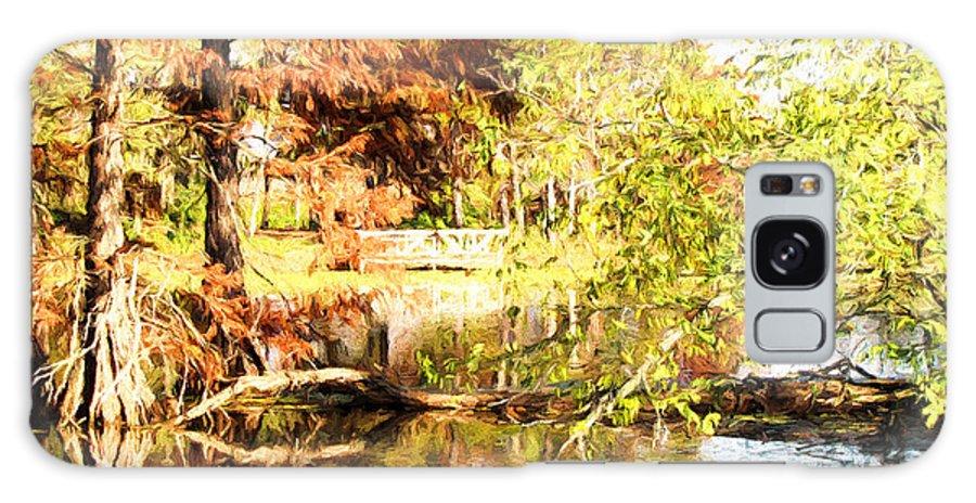 Cypress Galaxy S8 Case featuring the photograph The Bridge by John Freidenberg