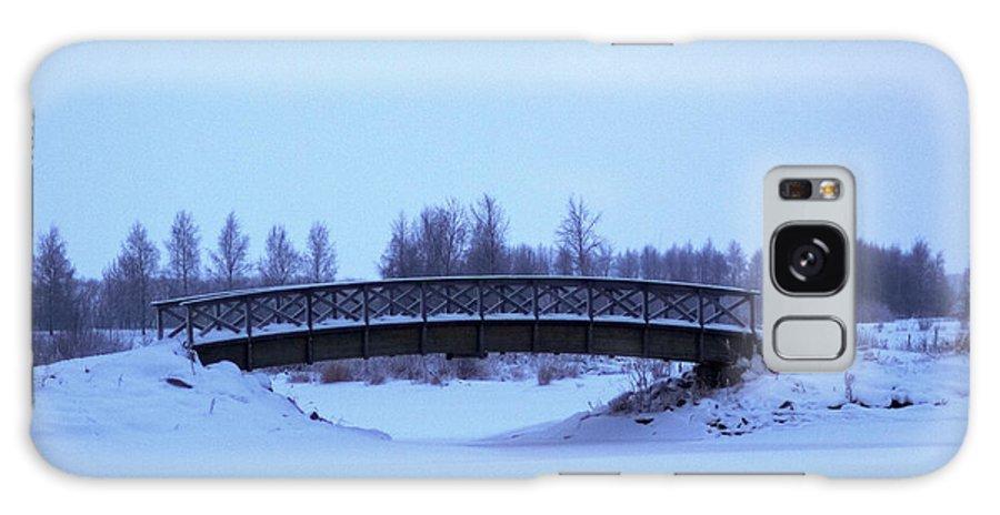 Lehto Galaxy S8 Case featuring the photograph The Bridge by Jouko Lehto