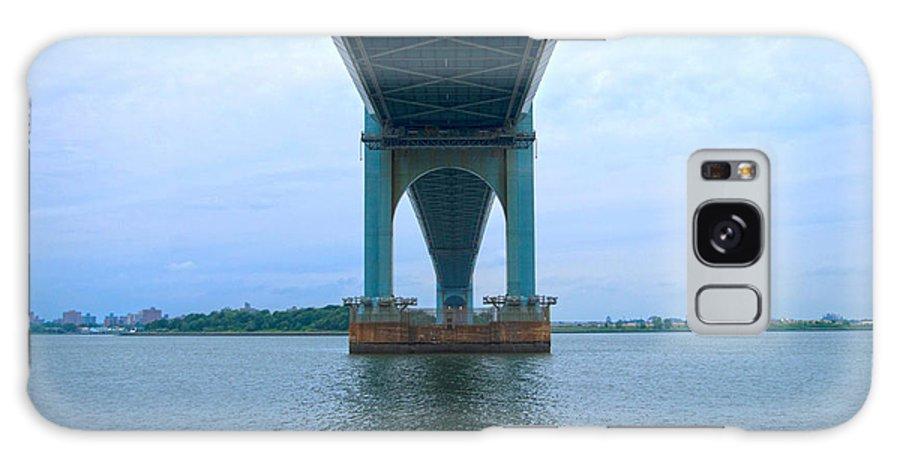 Bridge Galaxy S8 Case featuring the photograph The Bridge. by Nathan Engel