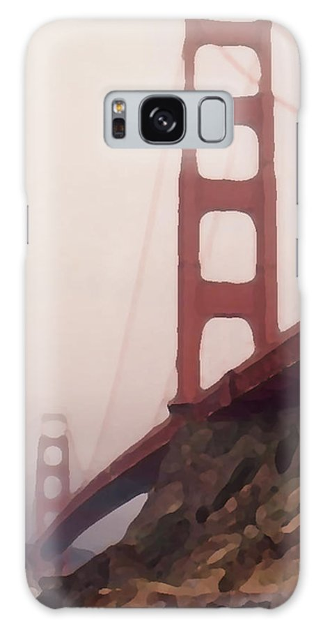 Art Galaxy S8 Case featuring the photograph The Bridge by Piero Lucia
