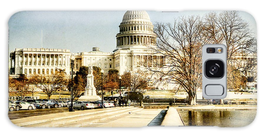 Washington Dc Galaxy S8 Case featuring the photograph The Capitol Building by Emily Kay
