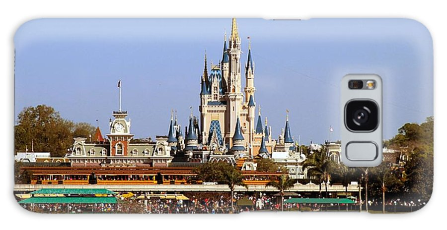 Disney World Galaxy S8 Case featuring the photograph The Castle by Nance Larson