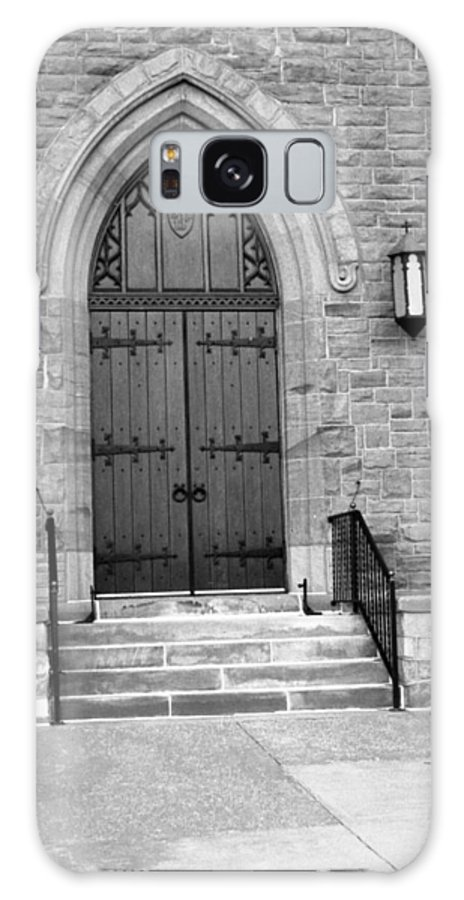 Chapel Doors Galaxy S8 Case featuring the photograph The Chapel by Lonnie Niver