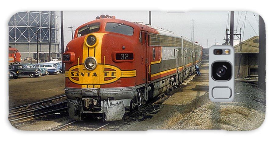 Railroads Galaxy S8 Case featuring the photograph The Chief by John Dziobko