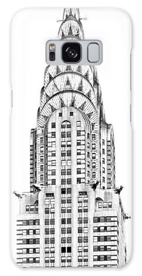 Aerial Galaxy S8 Case featuring the photograph The Chrysler Building by Luciano Mortula