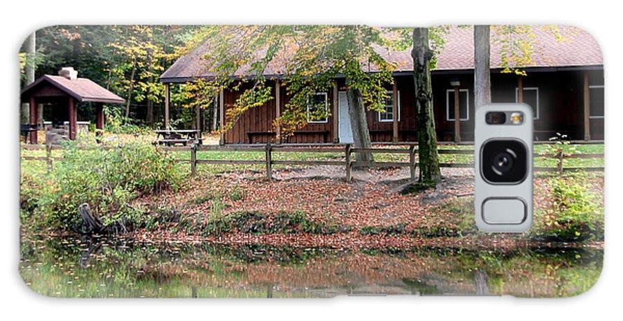 Commissioners Cabin Galaxy S8 Case featuring the photograph The Commissioners Cabin In Autumn by Rose Santuci-Sofranko