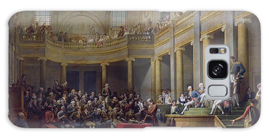 Comita Galaxy S8 Case featuring the photograph The Committee Of Lyon, 26th January 1802, 1808 Oil On Canvas by Nicolas Andre Monsiau