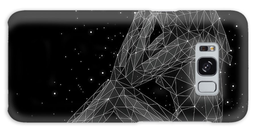 People Galaxy Case featuring the digital art The Constellation Of Virgo by Malte Mueller