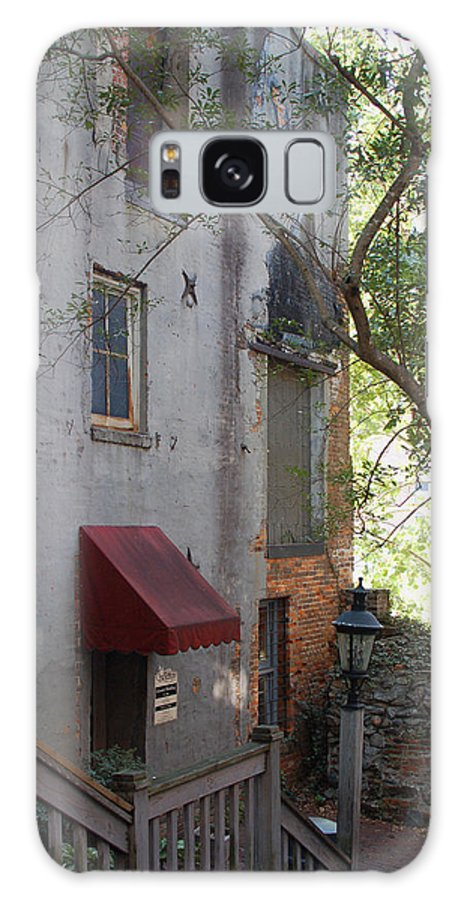 Cotton Exchange Galaxy S8 Case featuring the photograph The Cotton Exchange In Wilmington Nc by Suzanne Gaff