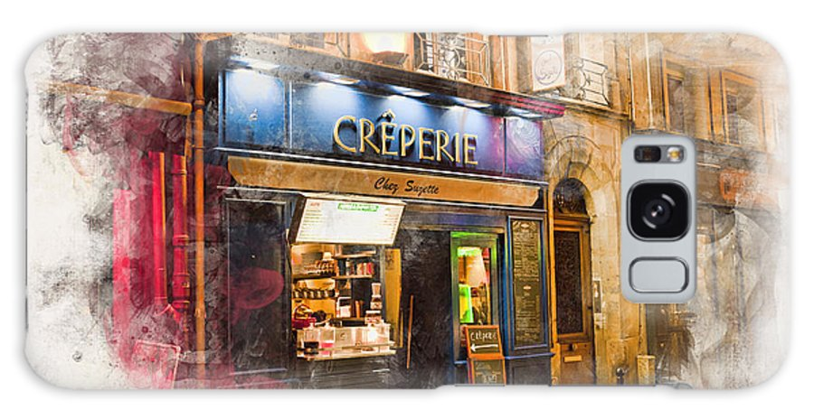 Arch Galaxy S8 Case featuring the photograph The Creperie by Evie Carrier