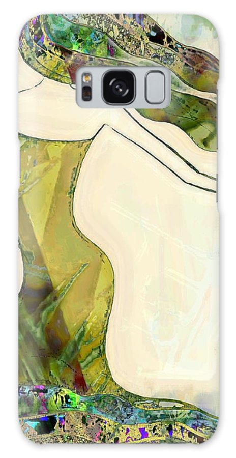Dancer Galaxy S8 Case featuring the painting The Dancer 6 by Anne Costello