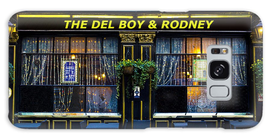 Only Fools And Horse's Galaxy S8 Case featuring the photograph The Del Boy And Rodney Pub by David Pyatt