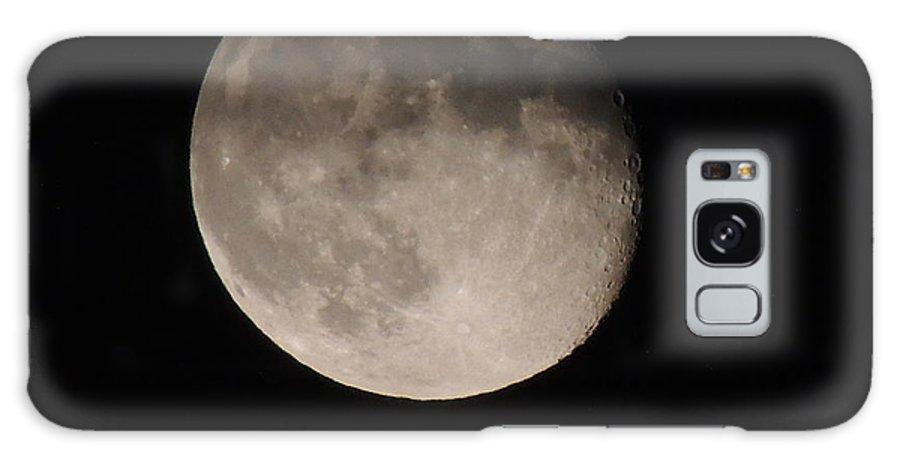 Descending Galaxy S8 Case featuring the photograph The Descending Moon by Anastasia Konn