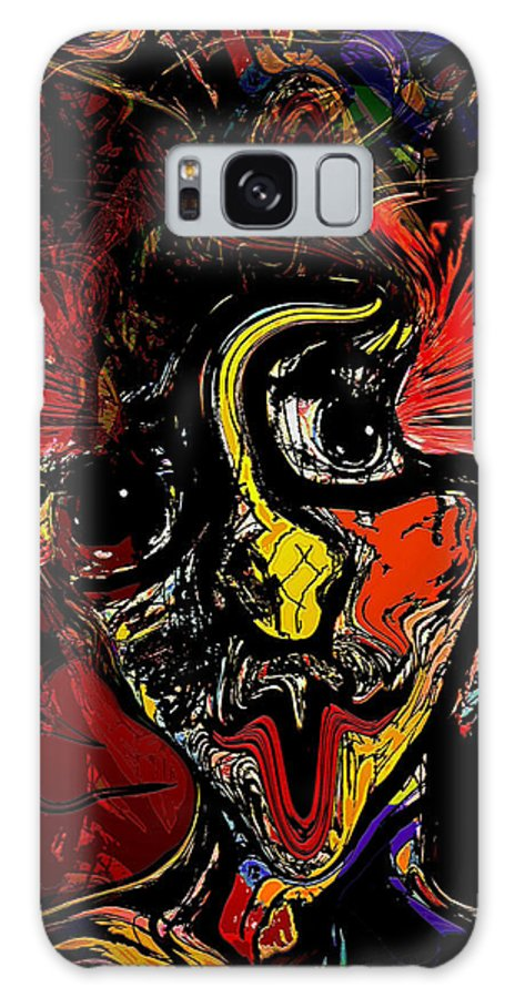 Fantasy Galaxy S8 Case featuring the mixed media The Dream by Natalie Holland