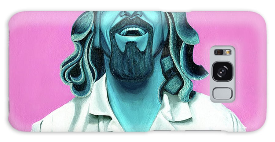 The Dude Paintings Galaxy S8 Case featuring the painting The Dude by Ellen Patton