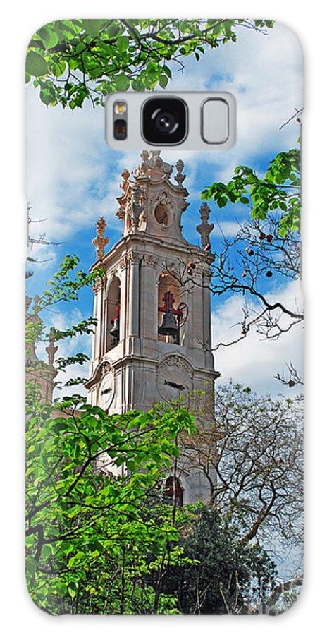 Bell Galaxy S8 Case featuring the photograph The Estrela Basilica In Lisbon by Luis Alvarenga