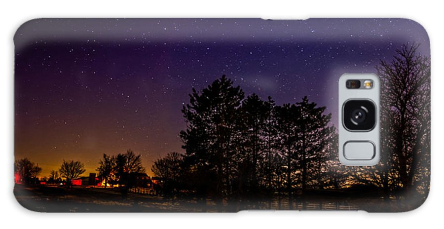 Blue Galaxy S8 Case featuring the photograph The Evening by Lars Lentz