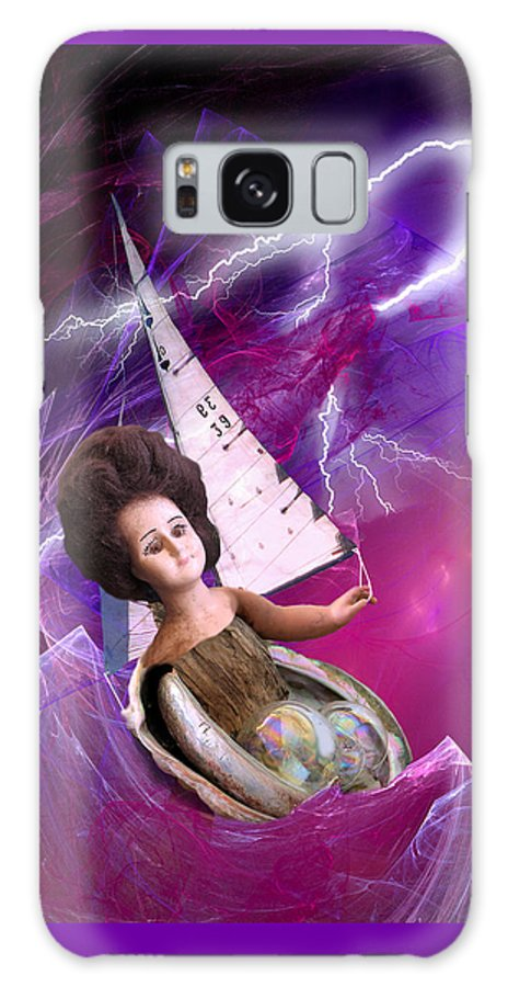 Doll Galaxy S8 Case featuring the digital art The Explorer by Lisa Yount