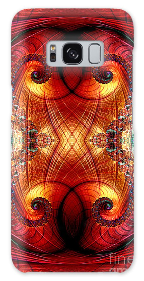 Fractal Galaxy S8 Case featuring the digital art The Eyes Have It 2 by Steve Purnell