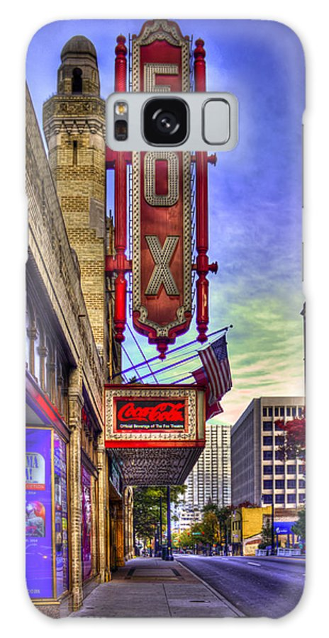 Reid Callaway Fox Theater Galaxy S8 Case featuring the photograph The Fabulous Fox Atlanta Georgia. by Reid Callaway
