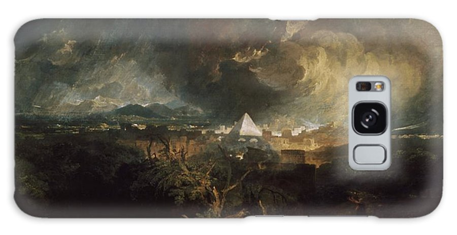 1800 Galaxy S8 Case featuring the painting The Fifth Plague Of Egypt by JMW Turner