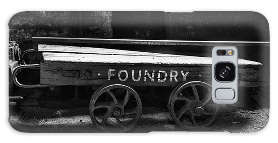 2012 Galaxy S8 Case featuring the photograph The Foundry Truck by Christine Smart