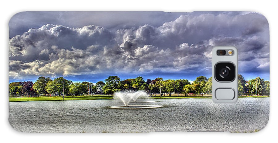 Fountain Galaxy S8 Case featuring the photograph The Fountain by Tim Buisman