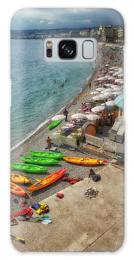 France Galaxy S8 Case featuring the photograph The French Riviera by Kim Andelkovic