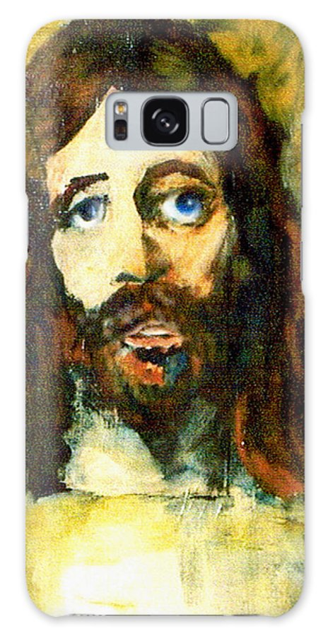 Jesus Christ Galaxy S8 Case featuring the painting The Galilean by Seth Weaver