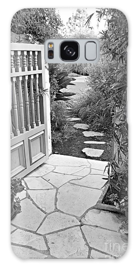 Galaxy S8 Case featuring the photograph Special Pricing The Garden Path by Amy Delaine