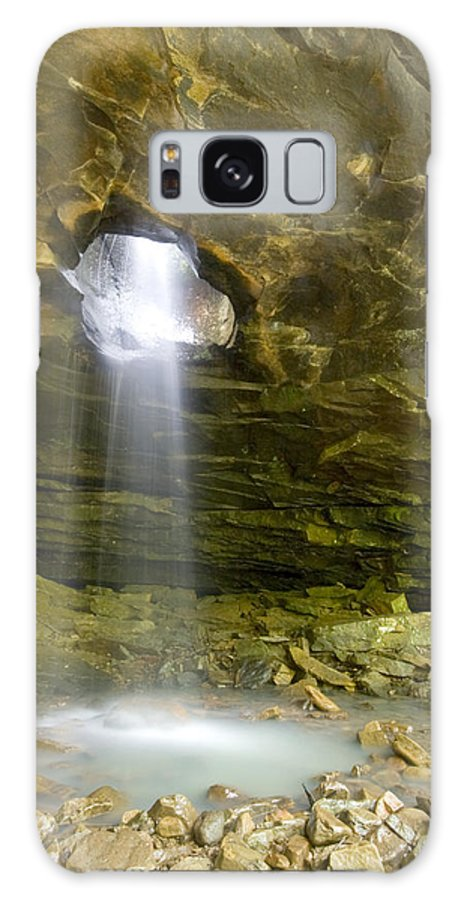 Waterfall Galaxy S8 Case featuring the photograph The Glory Hole by Robert Camp