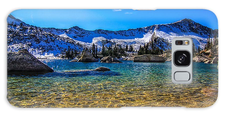 Utah Usa Galaxy S8 Case featuring the photograph The Gold Lake Bottom by Mitch Johanson