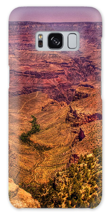 Grand Canyon Galaxy S8 Case featuring the photograph The Grand Canyon From Bright Angel Lodge by David Patterson