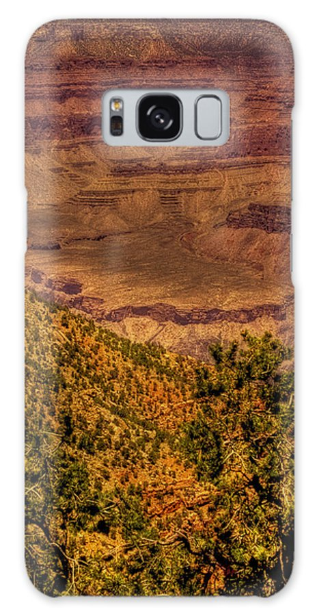 Grand Canyon Galaxy S8 Case featuring the photograph The Grand Canyon Vintage Americana II by David Patterson