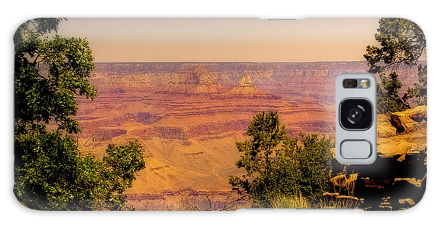 Grand Canyon Galaxy S8 Case featuring the photograph The Grand Canyon Vintage Americana Iv by David Patterson