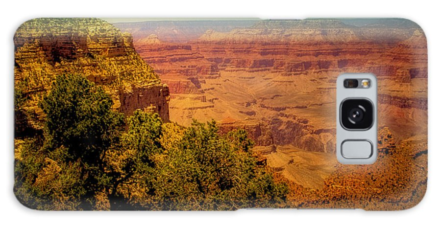 Grand Canyon Galaxy S8 Case featuring the photograph The Grand Canyon Vintage Americana Vii by David Patterson