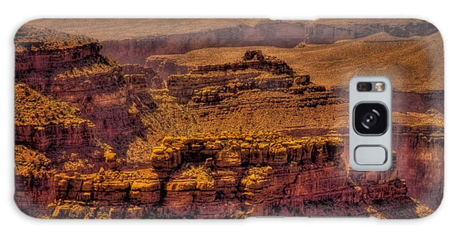 Grand Canyon Galaxy S8 Case featuring the photograph The Grand Canyon Vintage Americana Viii by David Patterson