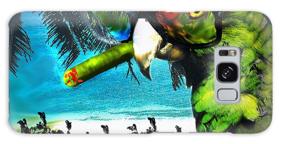 The Great Bird Of Casablanca Galaxy S8 Case featuring the digital art The Great Bird Of Casablanca by Seth Weaver